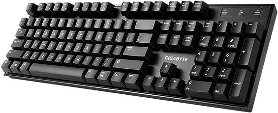 Gigabyte GK-Force K83 Teclado Mecánico, Cherry MX, Color Rojo