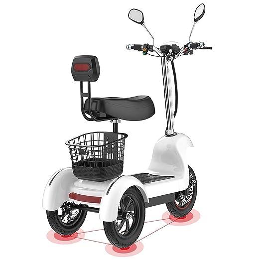 Joy-Beau Scooter eléctrico Triciclo 3 Ruedas para Adultos ...