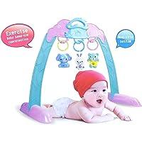 Jiada Portable Non Slip Baby Gym Frame Sit & Lay Down Play - Multicolour