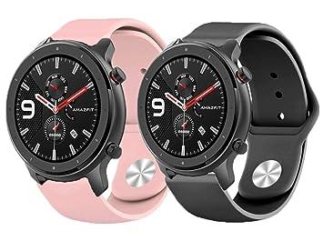✅ YUVASA Correa para Amazfit GTR 47mm smartwatch xiaomi ...