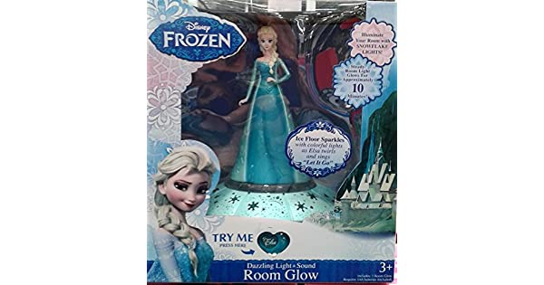Amazon.com: Frozen Disney Light & Sound Room Glow: Toys ...