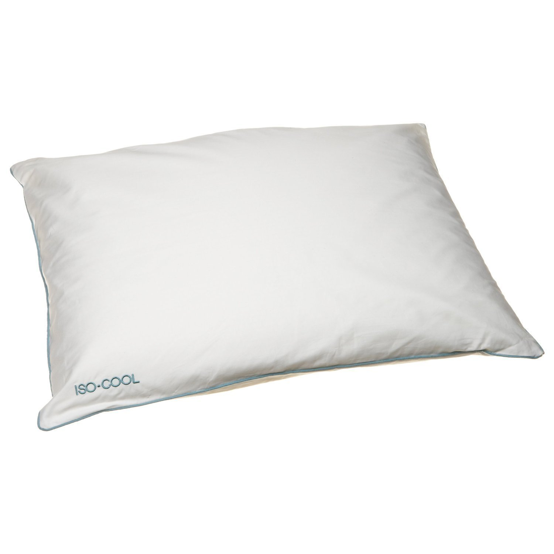 Amazon.com: SleepBetter Iso-Cool Memory Foam Pillow, Contour, Standard:  Home & Kitchen