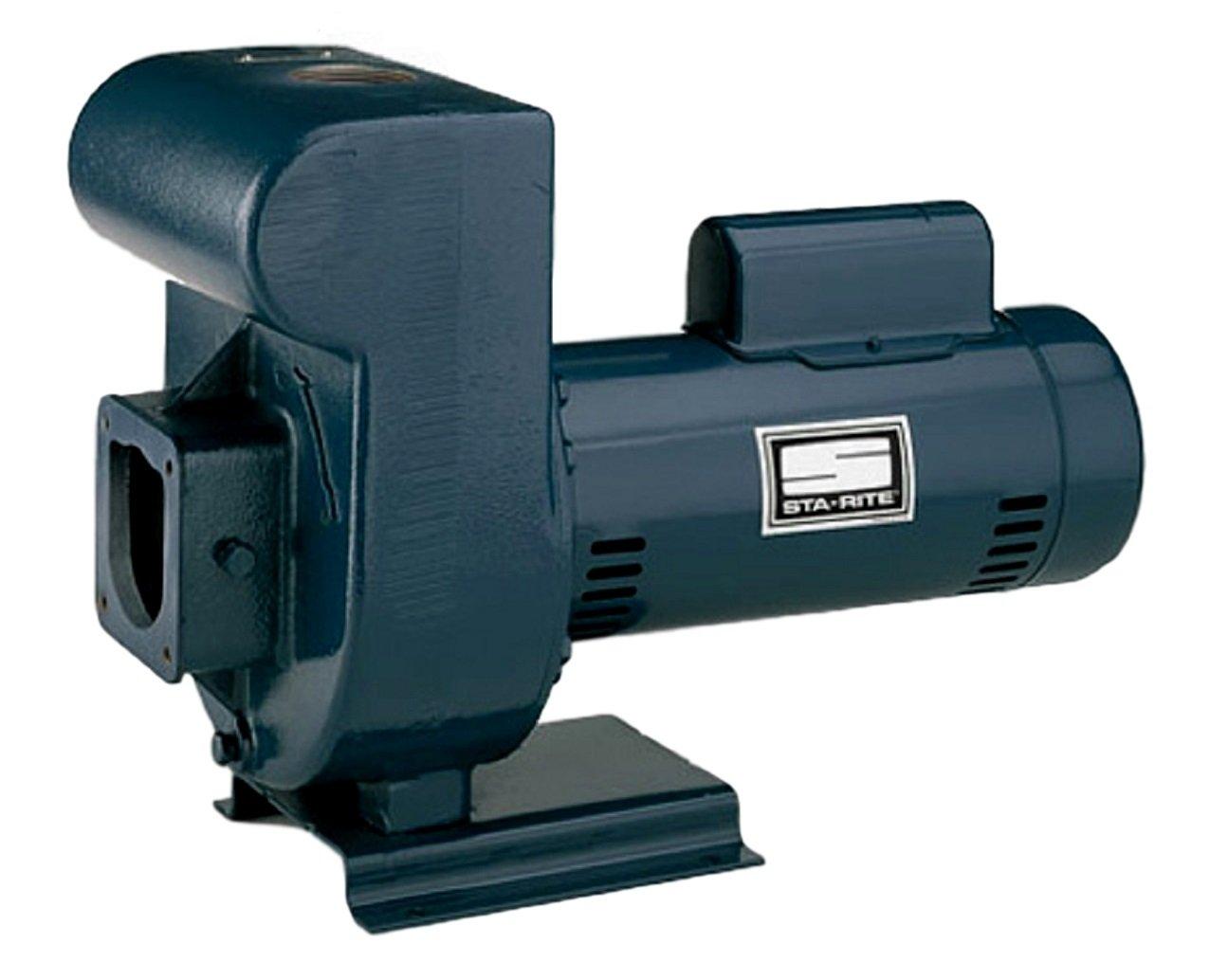 Pentair DMJ3-172 3-Phase Medium Head D-Series Self-Priming Centrifugal Commercial Pool Pump, 230/460-Volt, 5 HP by Pentair