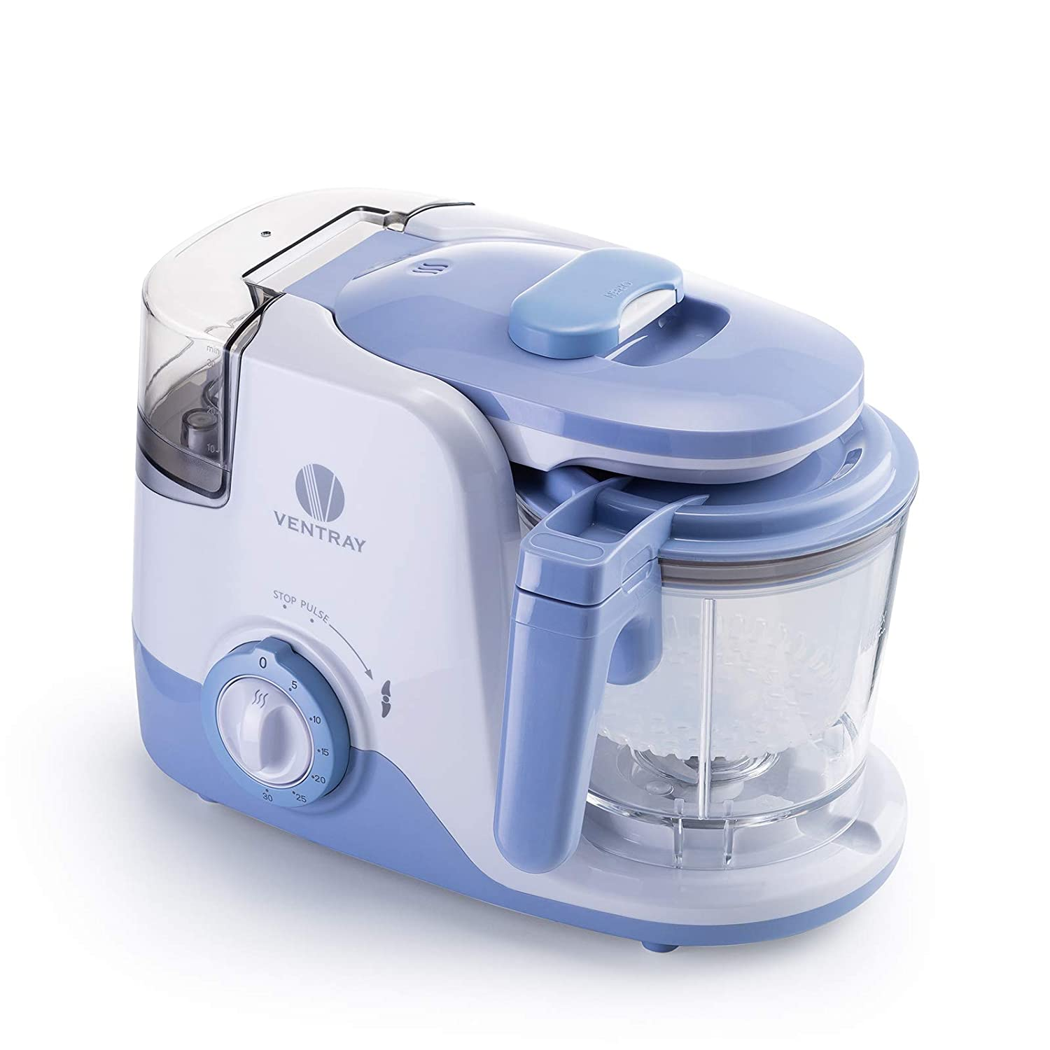 Ventray BabyGrow 600 Purple Instant Heating, Baby Food Maker, Blender all in one. Programmable baby food processor, removable water tank