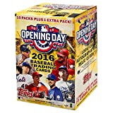 MLB 2016 Topps Opening Day Baseball Blaster Box Trading Cards, 11 packs