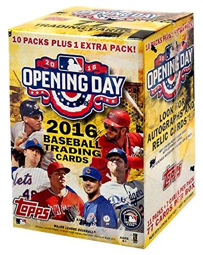 Topps Opening Baseball Blaster Trading