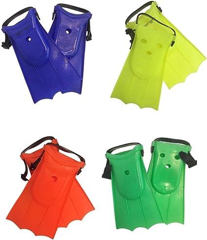 Children Soft Adjustable Fins Toddler Swimming Training Equipment Beach Flippers