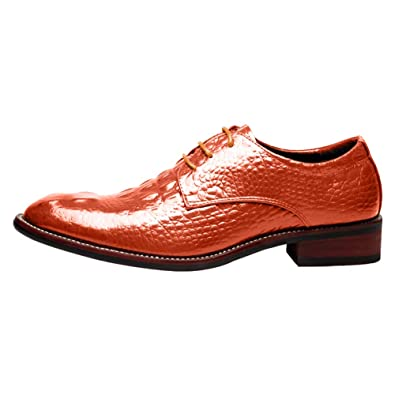 Padcod Lacets Chaussures Vernis Derby Cuir Dressing Mariage Homme rxrgw4