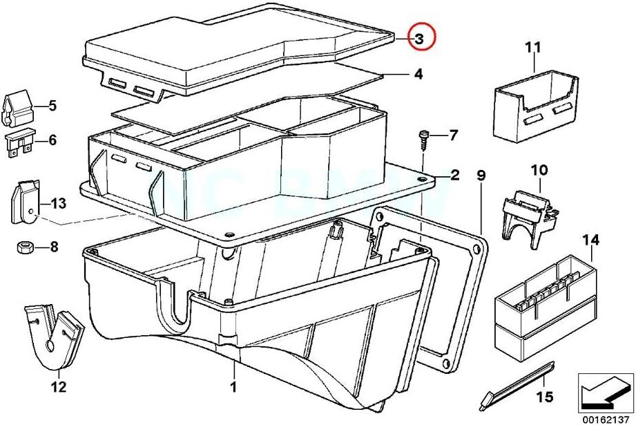 Amazon.com: BMW Genuine Fuse Box Cover: AutomotiveAmazon.com