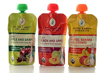 Peter Rabbit Organic Fruit Smoothie-kids Love These