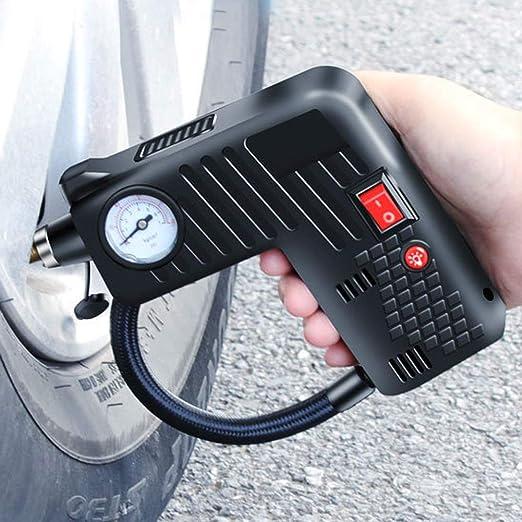 BonTime Inflador de neumáticos, compresor de Aire portátil, Coche ...