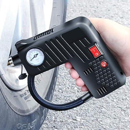 Lymty - Bomba de aire eléctrica inalámbrica para neumáticos de ...