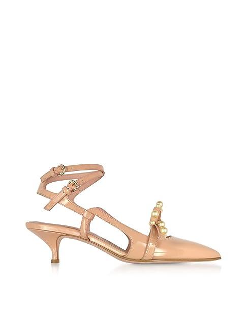 Red Valentino Qq0s0b65jtbn17 Sandales En Cuir Rose Pour Femmes: Amazon.fr