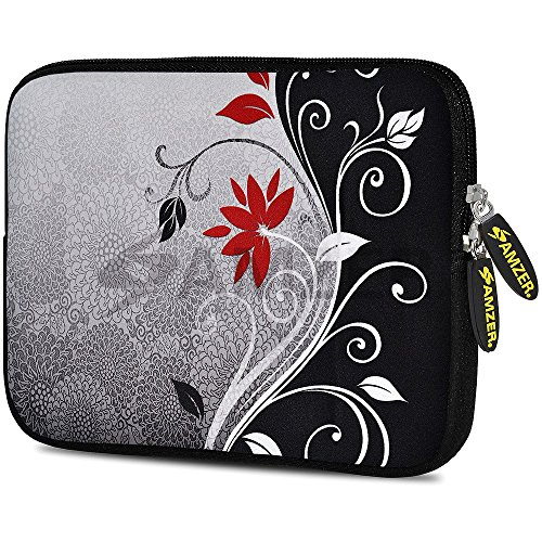 amzer-105-inch-designer-neoprene-sleeve-case-pouch-for-tablet-ebook-and-netbook-verona-swirl-amz5126