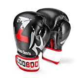 Flexzion Boxing Sparring Training Gloves Pro Muay