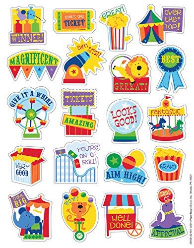Eureka Popcorn Stickers, Scented (650913)