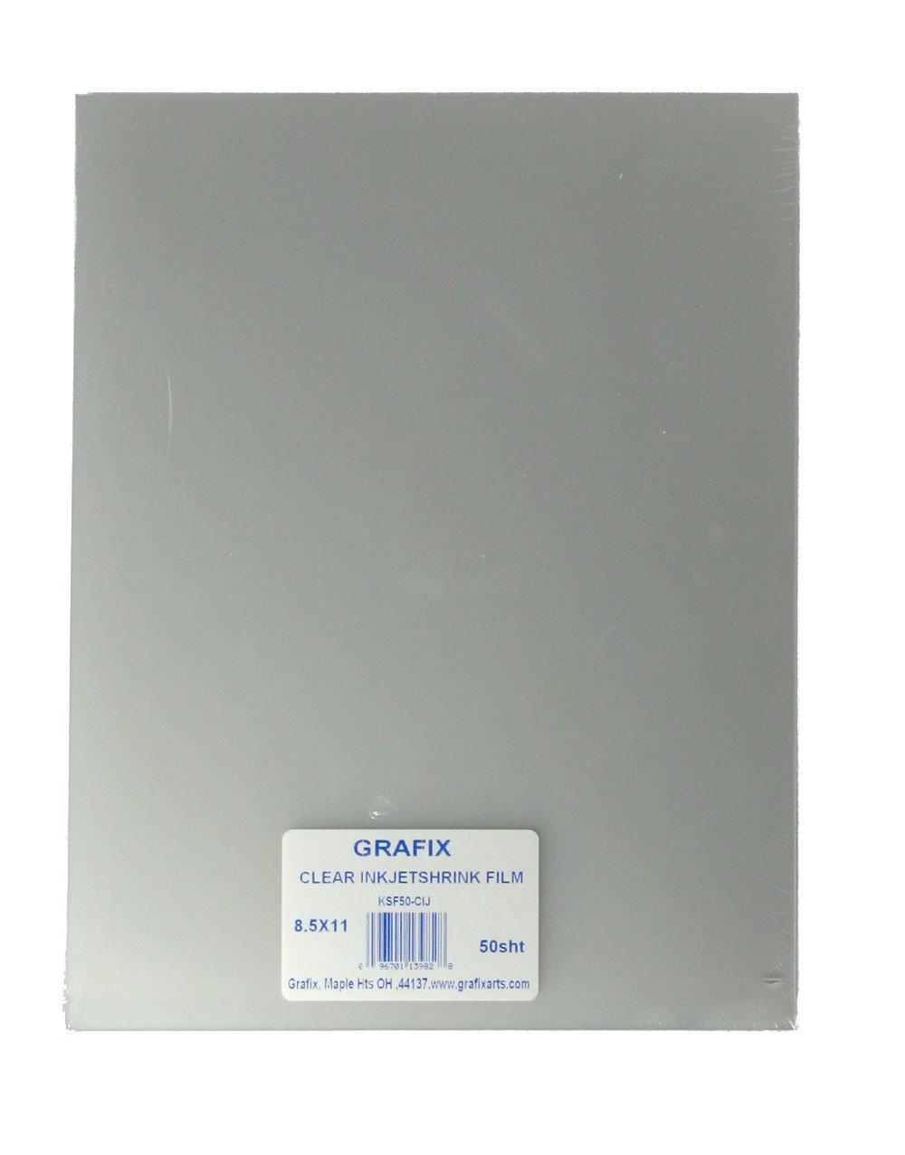 Grafix Ksf6-Wij Shrink Film, 6-Pack, White