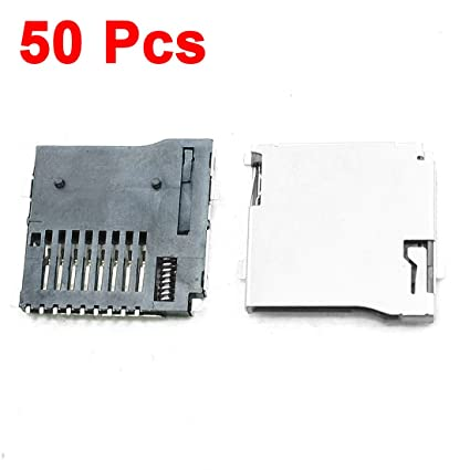 DOXO888 50 Pcs Push-out Type Stainless Steel TF Micro SD ...