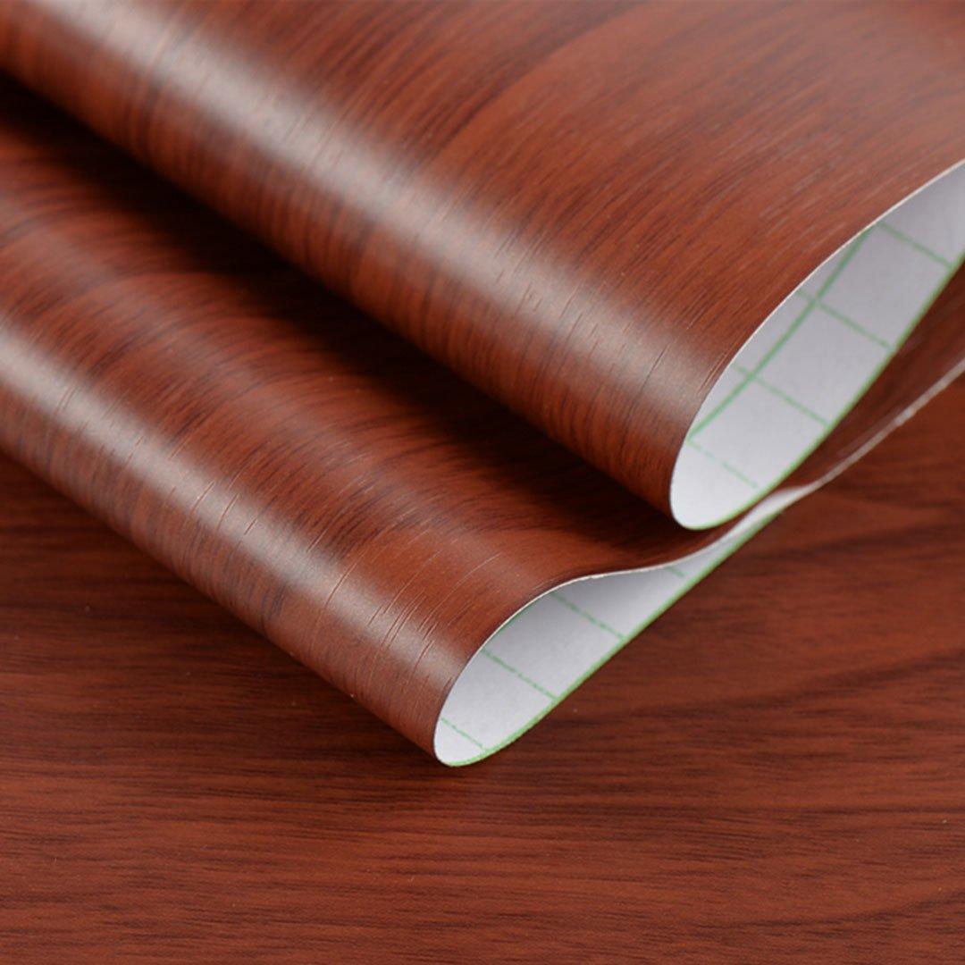 赤檀木 60cm 5m Diy タイル シート Xidaq はがせる壁紙 壁紙