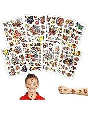 8 vel tattoo kinderen,Tijdelijke Tattoos Kinderen,Tijdelijke Tatoeages Voor Kinderen,Vellen tijdelijke tatoeages,Tijdelijke Tattoos Set,Kindertatoeages Stickers Waterdicht,Kindertatoeages Paw Patrol
