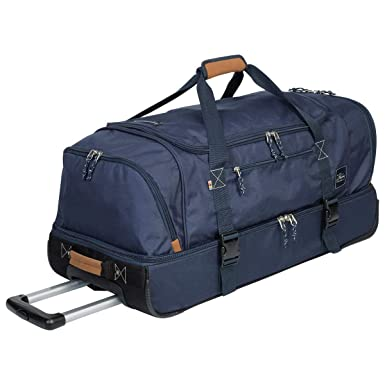 Amazon.com  The Skyway Luggage Globe Trekker 2 Compartment Rolling ... 12e5e14938a
