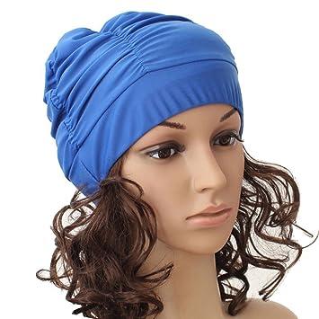 Bonnet de bain adapte pour cheveux longs