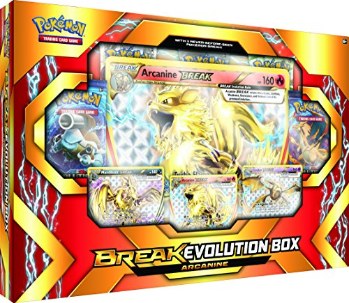 Pokémon Cards POK17BEARCABX TCG: Break Evolution Box Featuring -