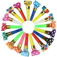 Koogel Party Whistles100 Pcs Musical Blowouts Birthday Party Favors New Years Party Noisemakers Party Blowouts Whistles…