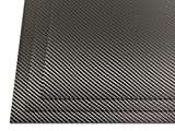 HolsterSmith: HOLSTEX Sheet (.080) 12'' x 12'' - Carbon Fiber/Tactical Texture - Storm Gray (3 Pack)