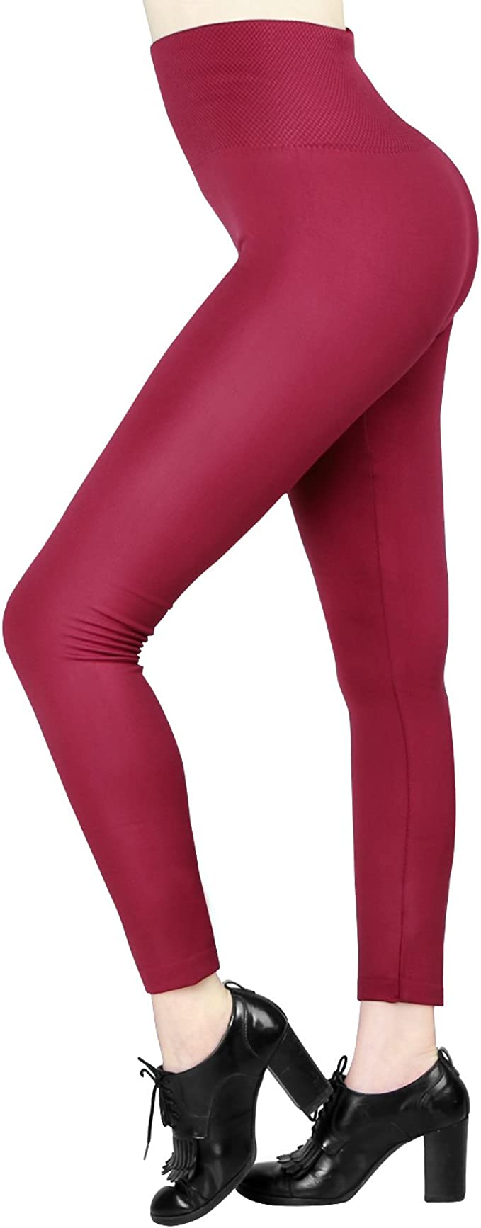 Thicken Skinny Fleece Lined High Waist Large Size Women Leggings Thick Tights Winter Warm Women Velvet Elastic Leggings Pants HPZHANG High Waist Winter Warm Leggings