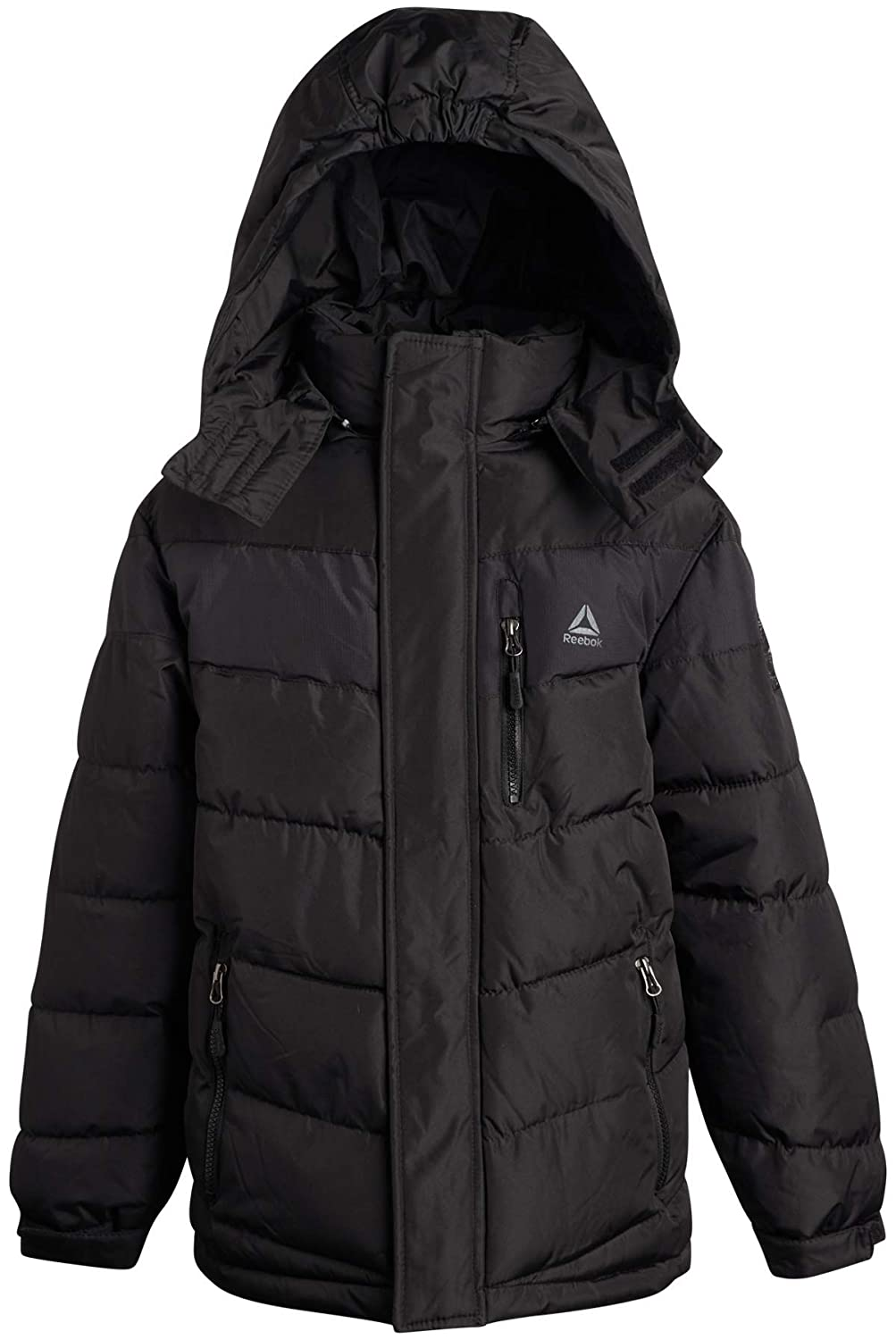 Reebok Boys Outerwear Heavyweight Thick Winter Bubble Puffer Jacket
