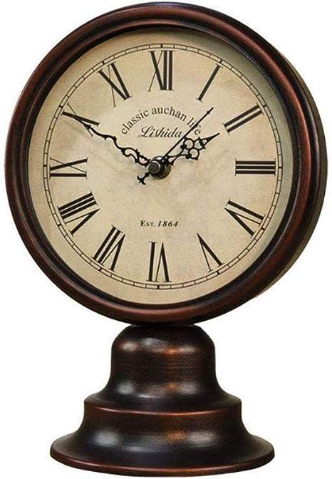 QIAOSHI Mantle Clocks Offic Home Battery Powered Mantle Decor Clock Living Room Pendulum Clock Digital Clocks Living Room Mantel Clocks