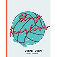"2020-2021 Weekly and Monthly Planner for Students: Academic Planner Aug 2020-July 2021, 8""x10""--To Do List, Habit Tracker, Homework Organizer for Middle and High School Students (Volleyball Cover)"