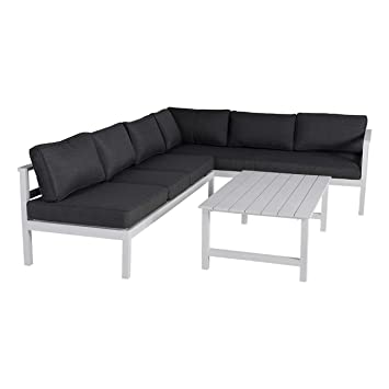 Amazon.de: OUTLIV. Loungemöbel Outdoor Indianapolis Loungeecke 3 ...