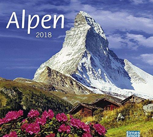 times&more Alpen Bildkalender - Kalender 2018