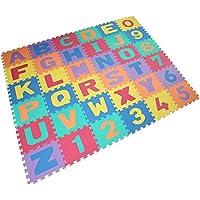 VLFit Alfombra Puzzle Niños de Letras para Niños