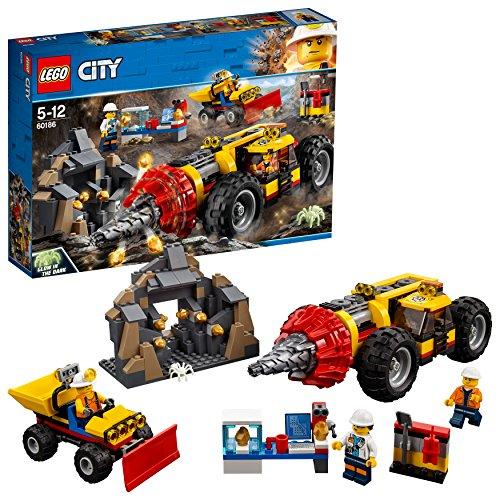 [해외] 레고(LEGO) 씨티 가리가리 드릴 카 60186