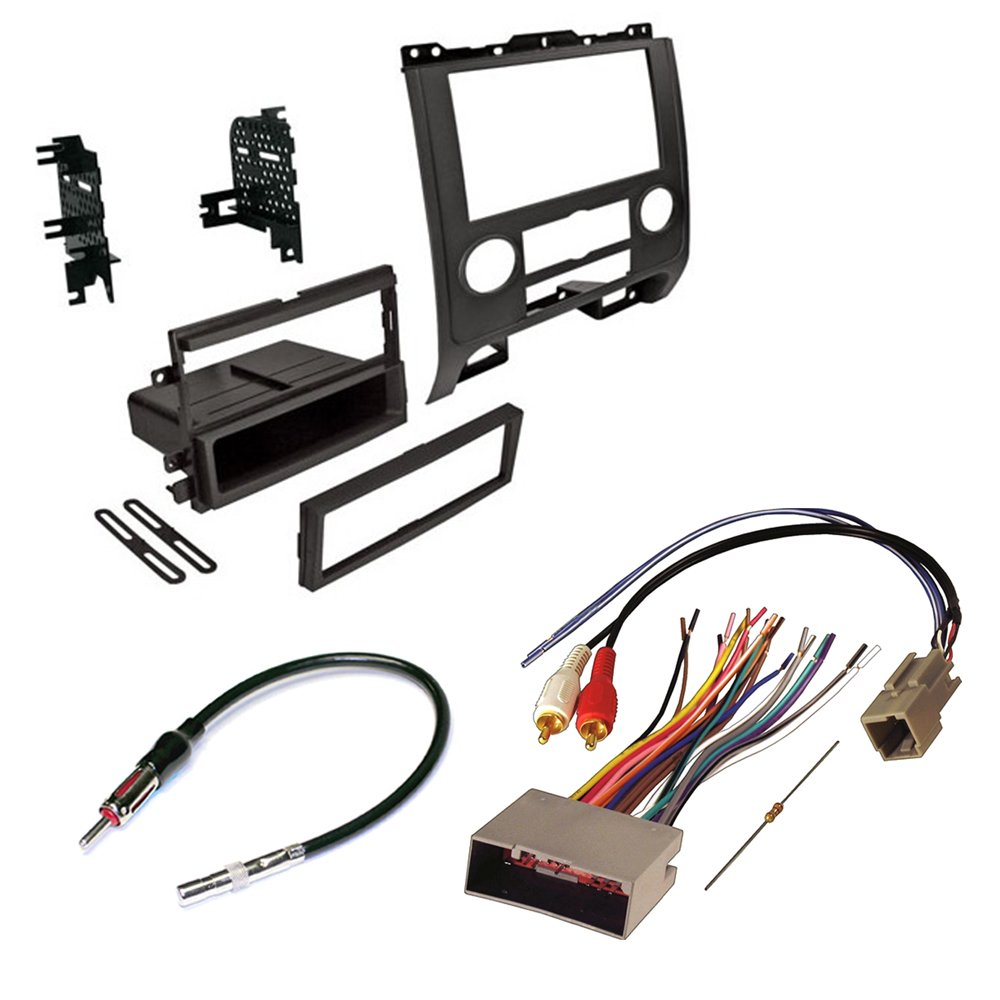 Amazon.com: Ford/Mercury/Mazda 2008-2012 CAR Radio Stereo Radio KIT Dash  Installation MOUNTING W/Wiring Harness and Radio Antenna: Car Electronics