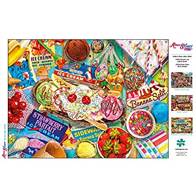 Buffalo Games - Aimee Stewart - Banana Split - 1000 Piece Jigsaw Puzzle: Toys & Games