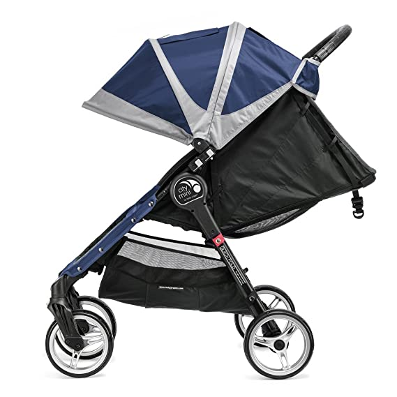 Baby Jogger City Mini 4 - Silla de paseo, color azulón/gris: Amazon.es: Deportes y aire libre