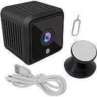 Elinz Mini Spy Security Hidden WiFi Camera 1080P CCTV Built-in Battery Night Vision 180 mins 360° Magnetic Bracket 4 IR…