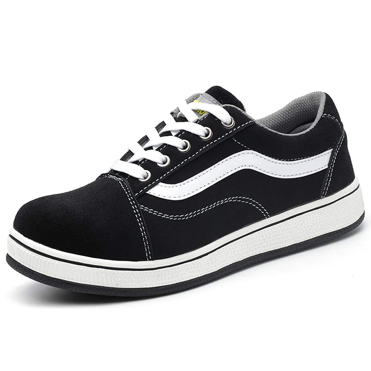 CHNHIRA Safety Shoes Mens\u0026Woman Steel