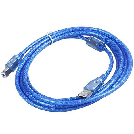 ACAMPTAR Azul USB 2.0 A/B Impresora Cable De Datos De Impresora ...