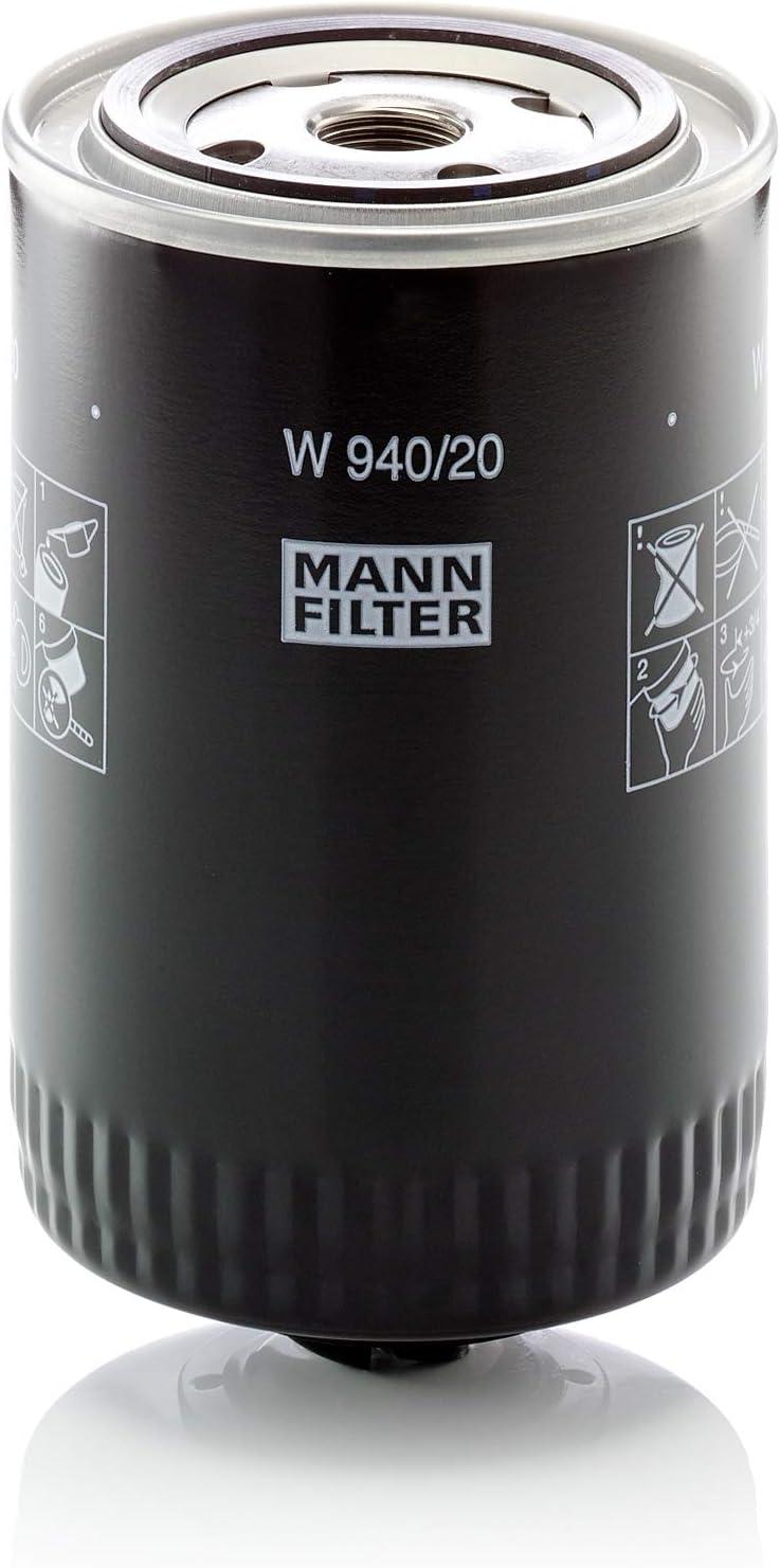 Mann Filter Original Ölfilter W 940 20 Für Pkw Und Nutzfahrzeuge Auto