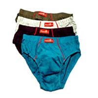 VIP Men's Cotton Brief - Pack of 4
