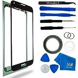 MMOBIEL Kit de remplacement d'écran tactile pour Samsung Galaxy S5 G900 / S5 Neo G903M Series (Noir) inclus: Vitre de rechange / Pincette / Ruban adhésif 2mm / Chiffon microfibre / Kit d'outillage spécifique / fil métallique / Manuel d'instructions