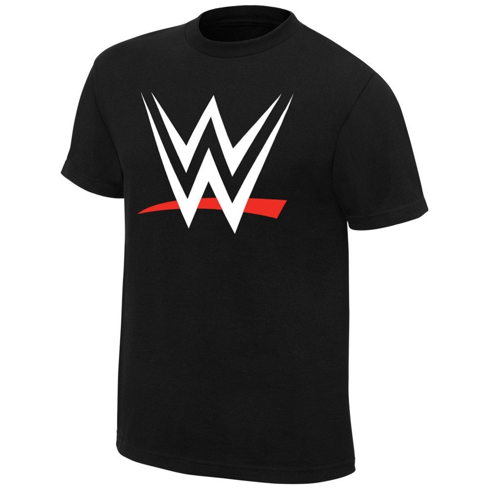 WWE 2015 Logo World Wrestling Entertainment Boys Kids T-Shirt-YL