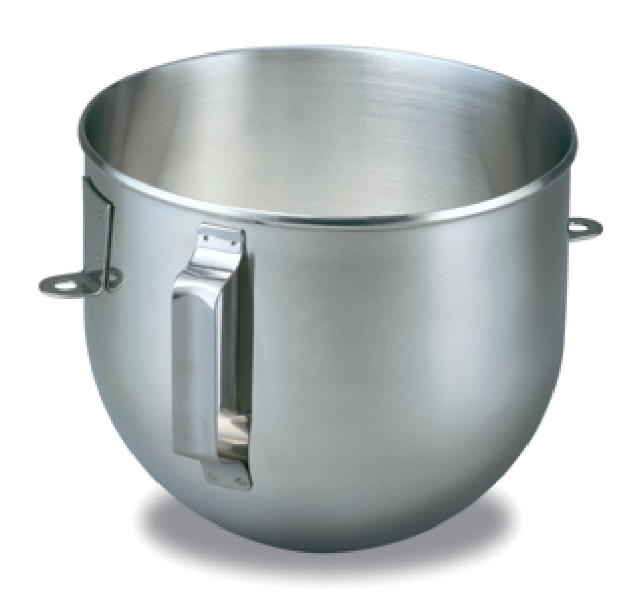 KitchenAid K5ASB Brushed Stainless Steel 5 Quart Mixing Bowl with Handle for Bowl Lift Stand Mixers