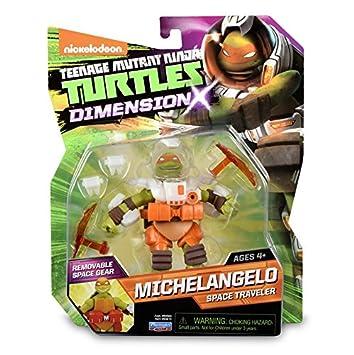 Tortugas Ninja - Figura Michelangelo x 5 (TUA02101): Amazon ...