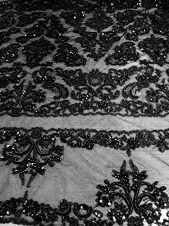 Beaded Lace Fabric